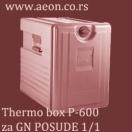 THERMO BOX P-600 ZA GN POSUDE 1/1